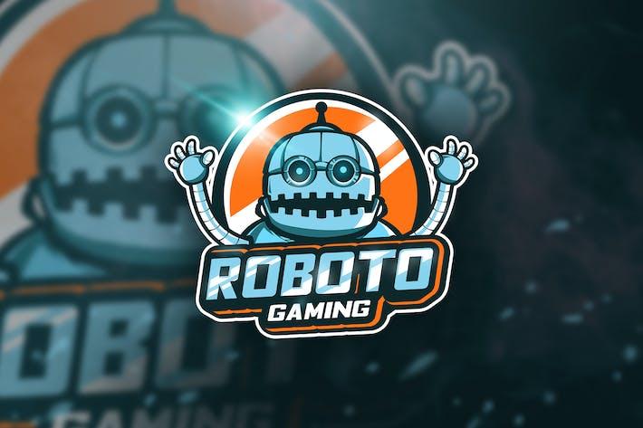 Thumbnail for Roboto Gaming - Mascot & Esport Logo