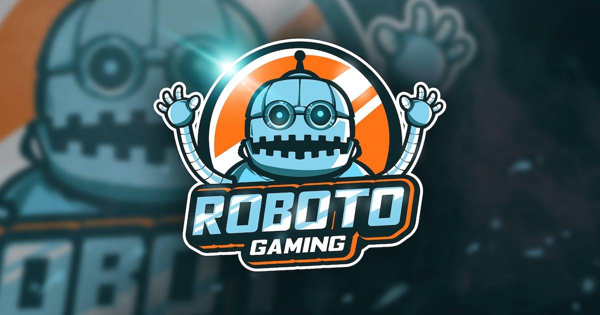 Download Roboto Gaming - Mascot & Esport Logo by aqrstudio
