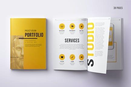 Portfolio Design - A4 & US Brief
