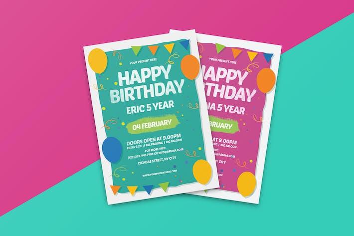 Thumbnail for Happy Birthday Invitation