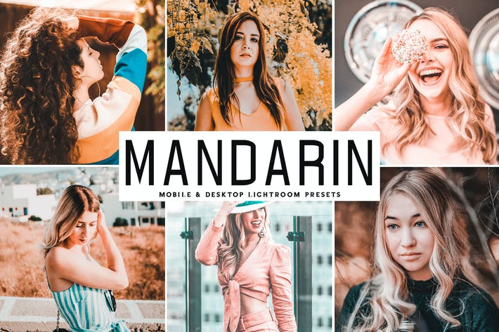 Thumbnail for Mandarin Mobile & Desktop Lightroom Presets