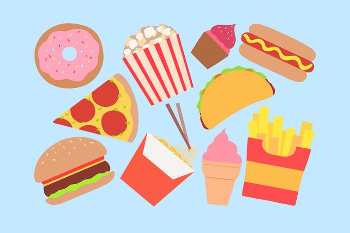 Thumbnail for Fast Food Clipart
