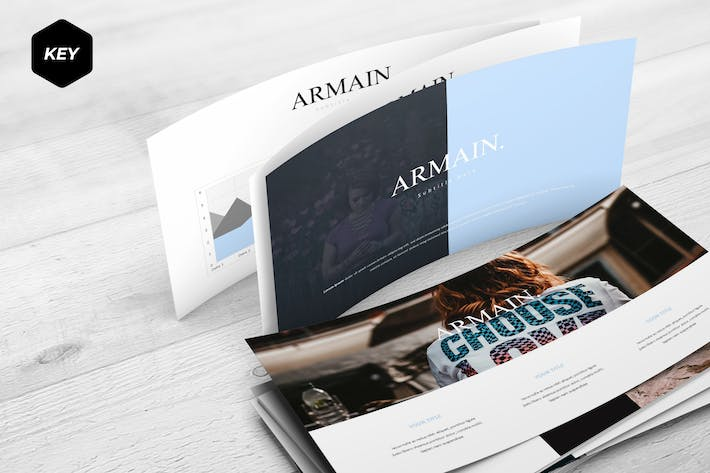 Thumbnail for Armain - Keynote Template