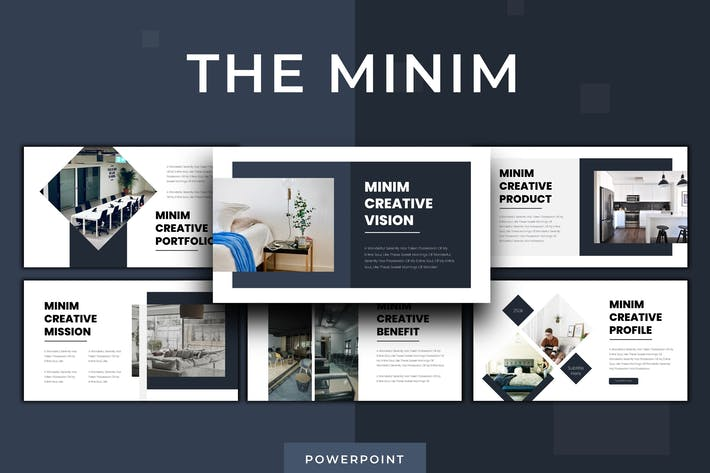 Thumbnail for The Minim - Powerpoint Template