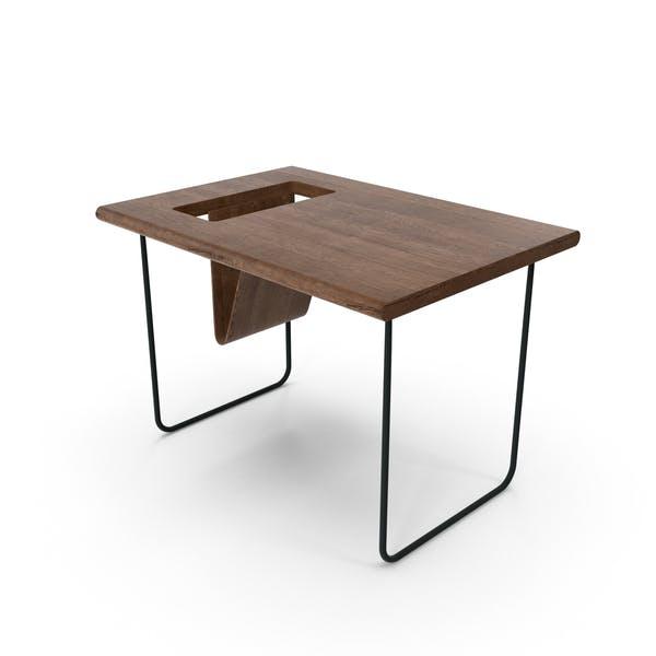 Современный деревянный стол