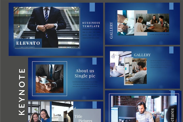 Thumbnail for Elevato Business - Keynote Template