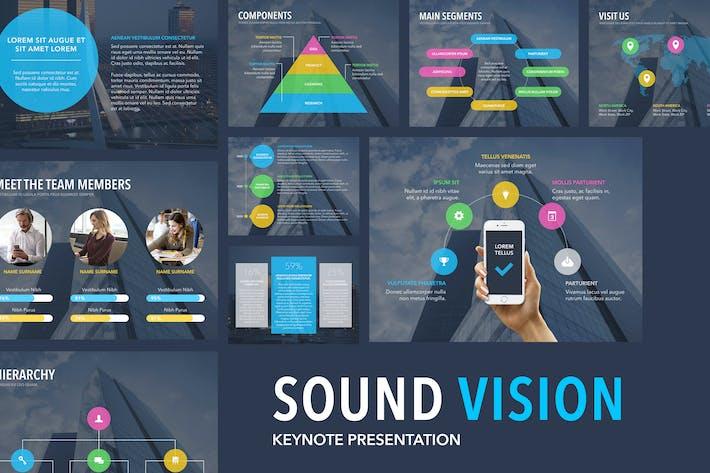 Шаблон Keynote Sound Vision