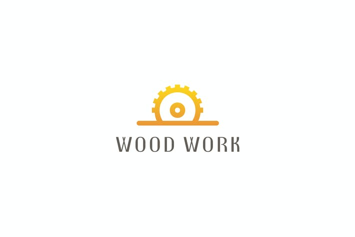 Thumbnail for Wood Work - Logo Template