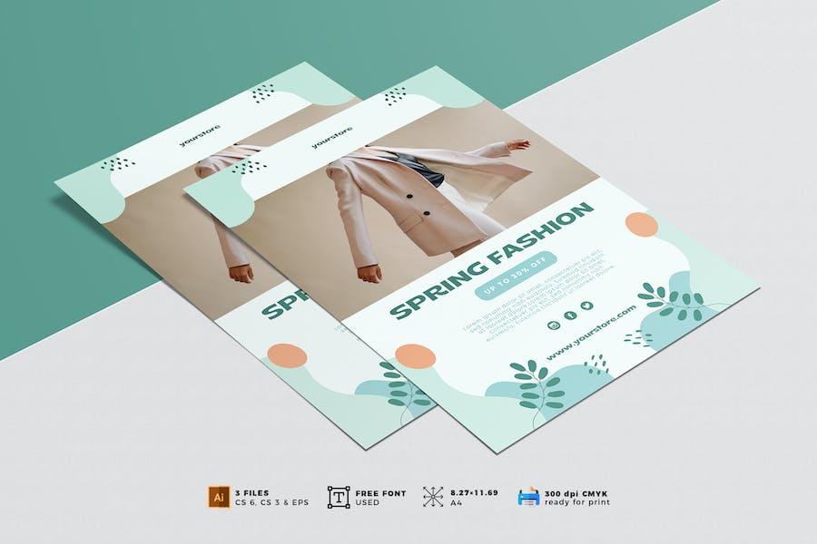 Minimalist Fashion Flyer Vol. 04