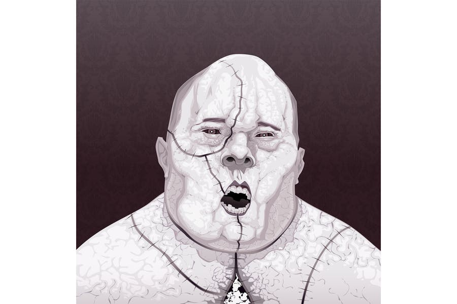 Портрет зомби
