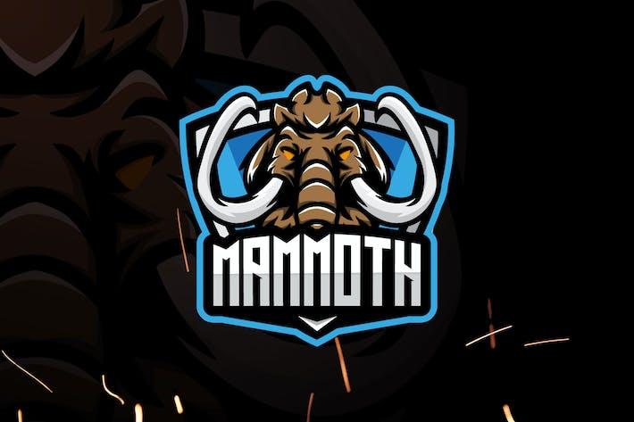Mammoth Esports - Mascot & Esport Logo