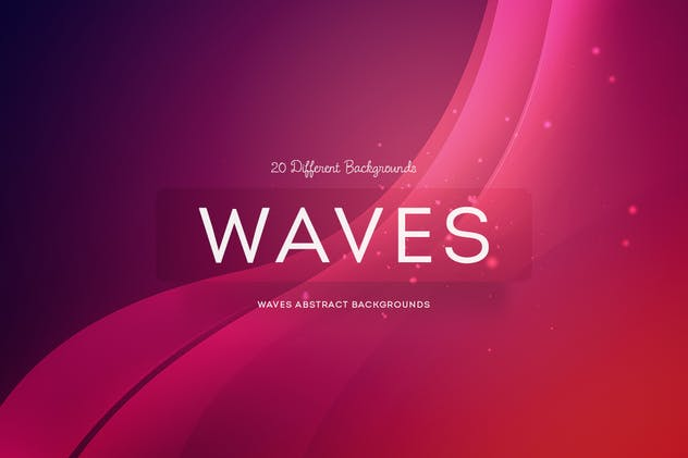 Waves Abstract Backgrounds