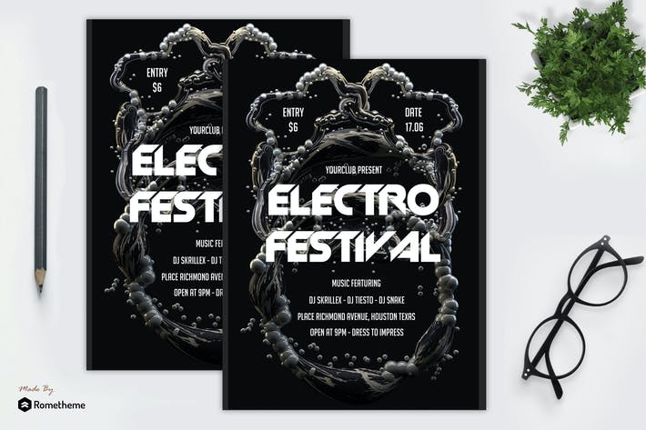 Thumbnail for Electro Festival Flyer vol.1 MR