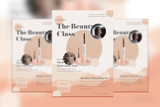 The Beauty Class Flyer
