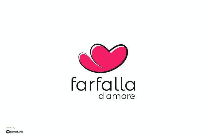 Thumbnail for Farfalla d'Amore - Mock-up RB
