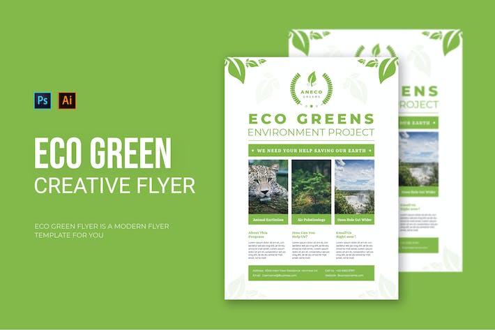 Eco Green - dépliant