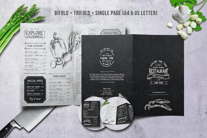 Thumbnail for Sketch Food Menu Bundle
