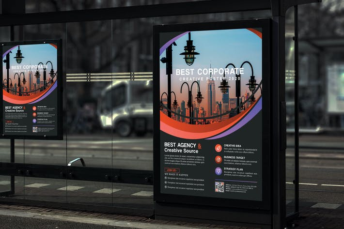 Thumbnail for Circlo - Creative Corporate Poster HR