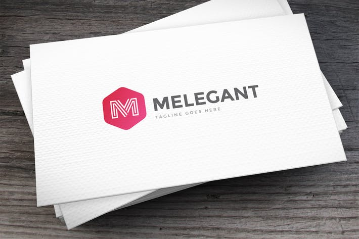 Thumbnail for Melegant Letter M Logo Template