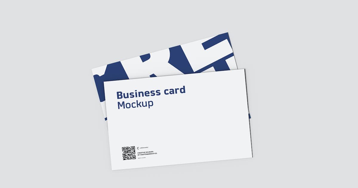 Download Top View Double Business Card 8.9x5.6cm by crftsco