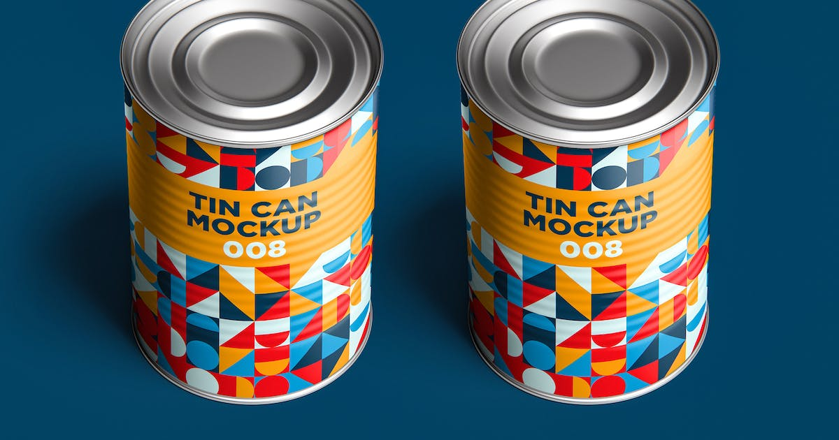 Download Tin Can Mockup 008 by traint