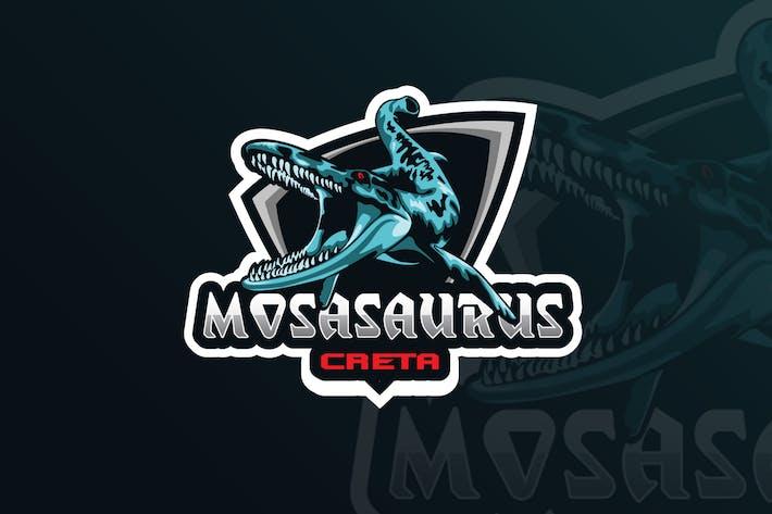 Thumbnail for Mosasaurus  Mascot & eSports Gaming Logo