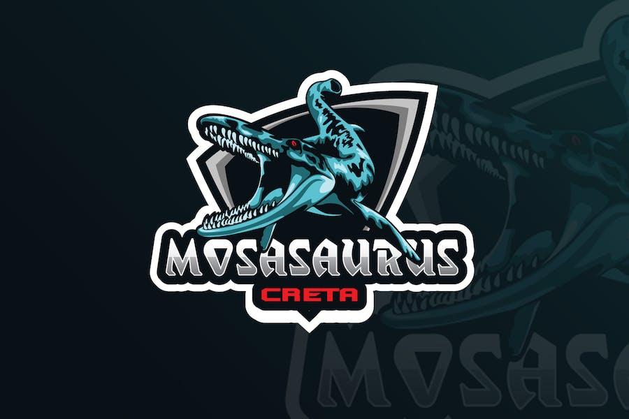 Mosasaurus  Mascot & eSports Gaming Logo