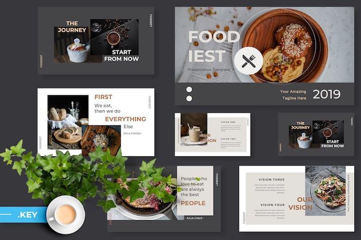 Thumbnail for Foodiest Restaurant Keynote Presentation
