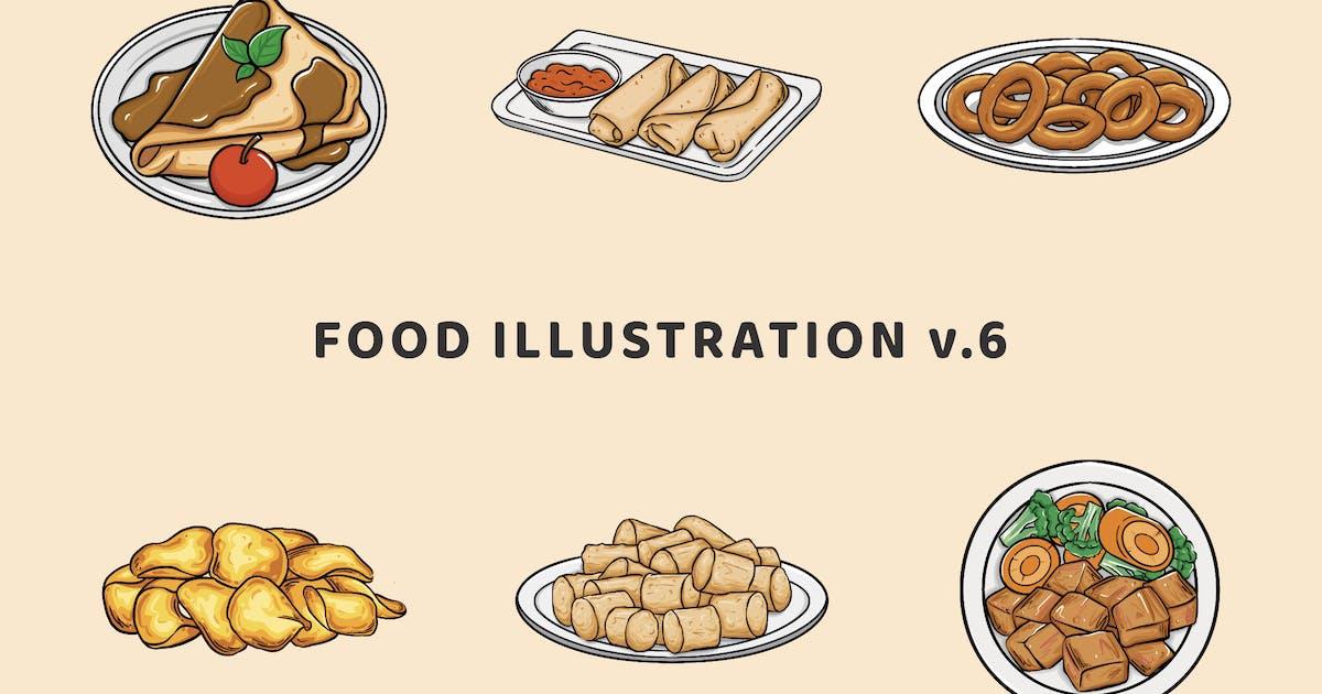 Download Food Illustration V.6 by deemakdaksinas