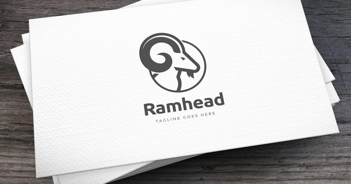 Ram Head Logo Template by empativo