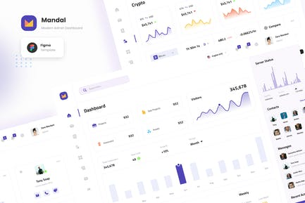 Mandal - Modern Admin Dashboard Template