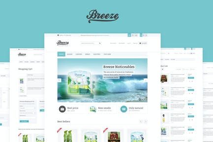 Breeze — Responsive OpenCart Theme