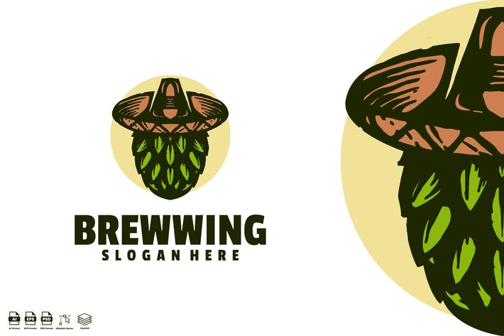 Thumbnail for brewwing mexican vintage logo