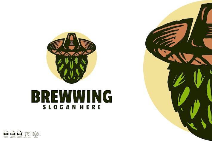 brewwing mexican vintage logo