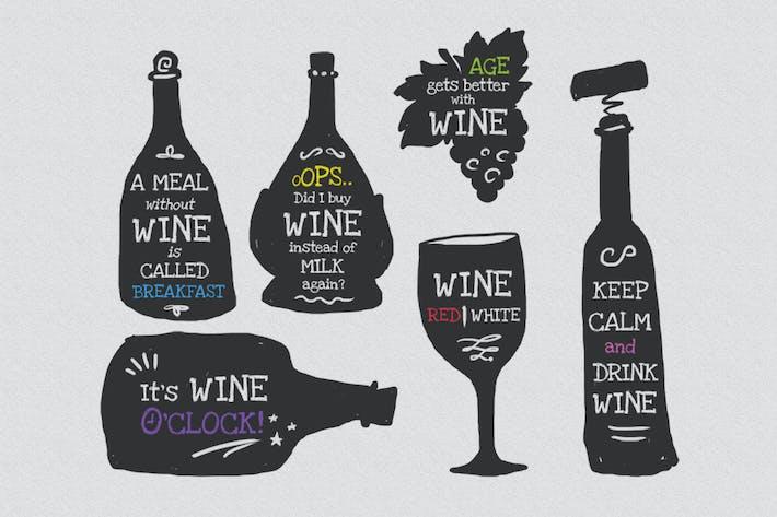Wine Wisdom Badges