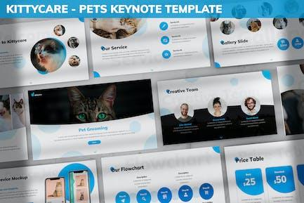 Kittycare - Pets Keynote Template