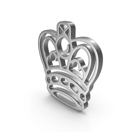 King Logo Silver