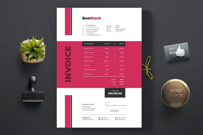 Invoice Template 38