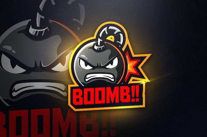 Thumbnail for BOOMB - Mascot & Esport Logo