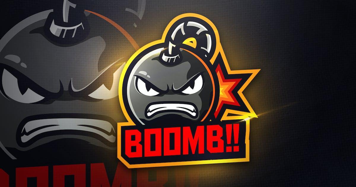 Download BOOMB - Mascot & Esport Logo by aqrstudio