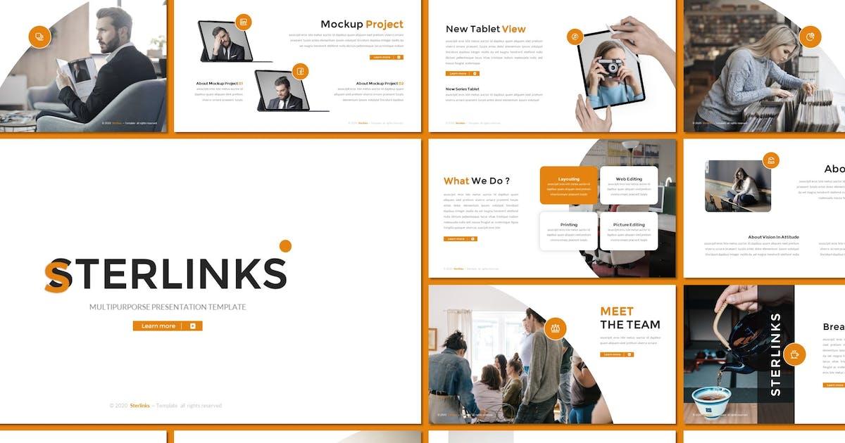 Download Sterlinks - Multipurpose Keynote Template by inspirasign