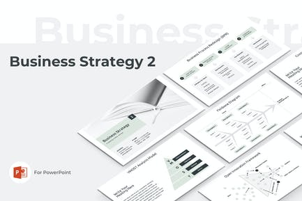 Business Strategy Two PowerPoint Template