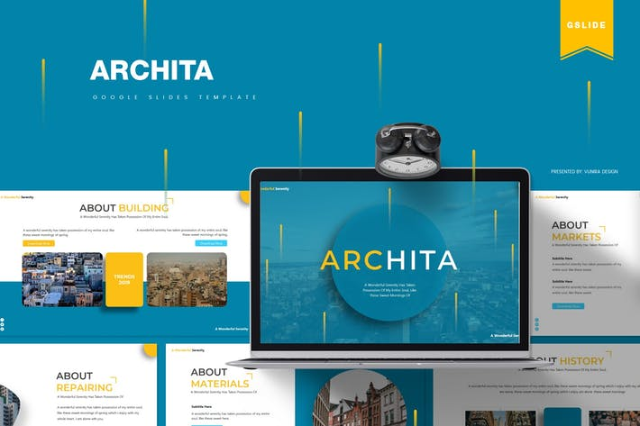 Thumbnail for Archita | Google Slides Template