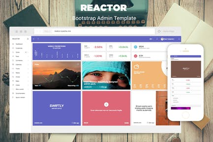 Reactor - Bootstrap Admin Template