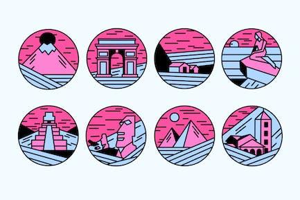 Pink Landscapes