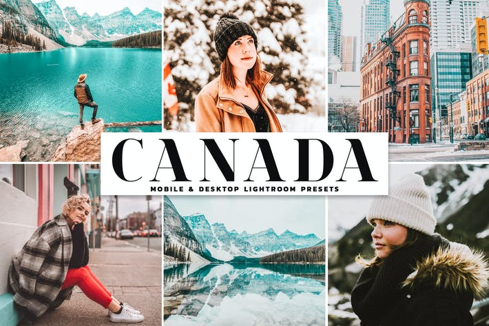 Thumbnail for Canada Mobile & Desktop Lightroom Presets