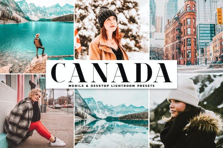 Thumbnail for Ajustes preestablecidos de Lightroom Móvil y de Escritorio de Canadá