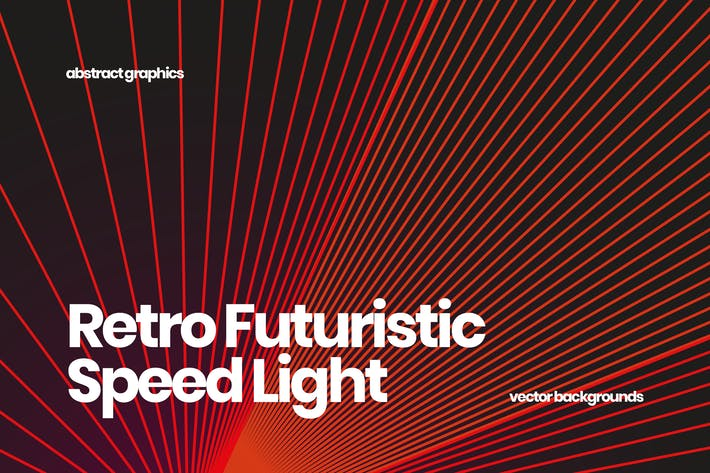Thumbnail for Retro Futuristic Speed Light Backgrounds