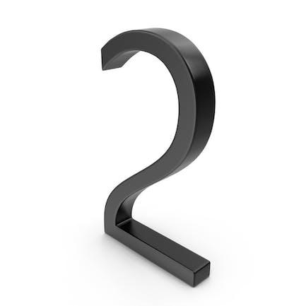 Number 2 Black