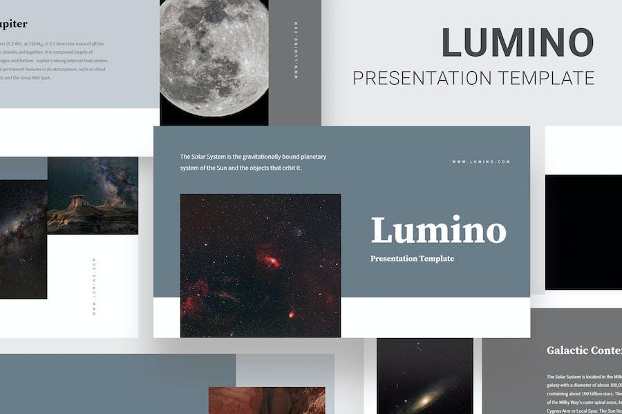 Lumino - Diapositivas de Google Educación del Sistema Solar